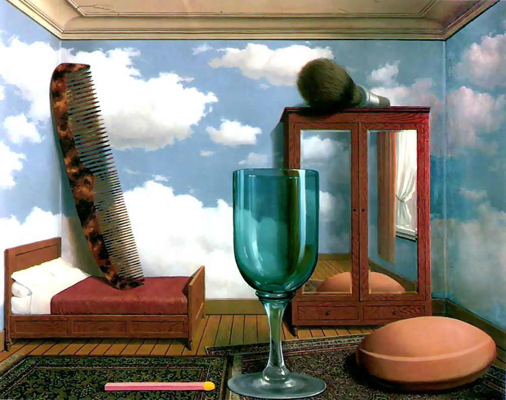 Personal Values by Rene Magritte