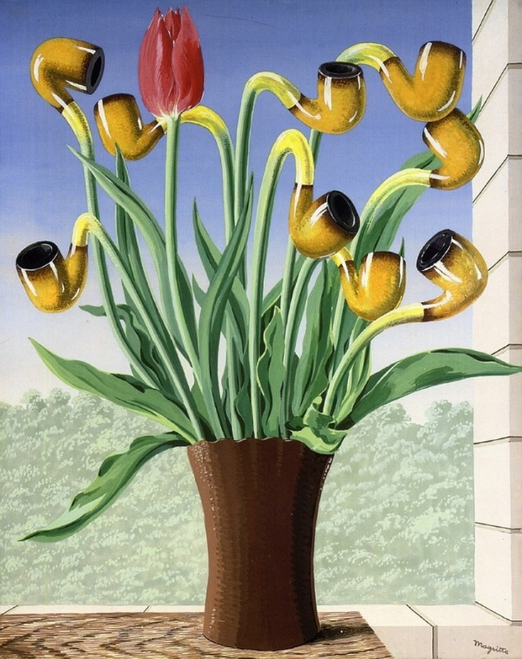 The Culture of Ideas by Rene Magritte