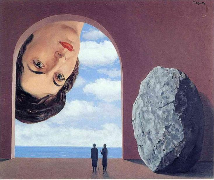 Portrait of Stephy Langui by Rene Magritte | Lone Quixote