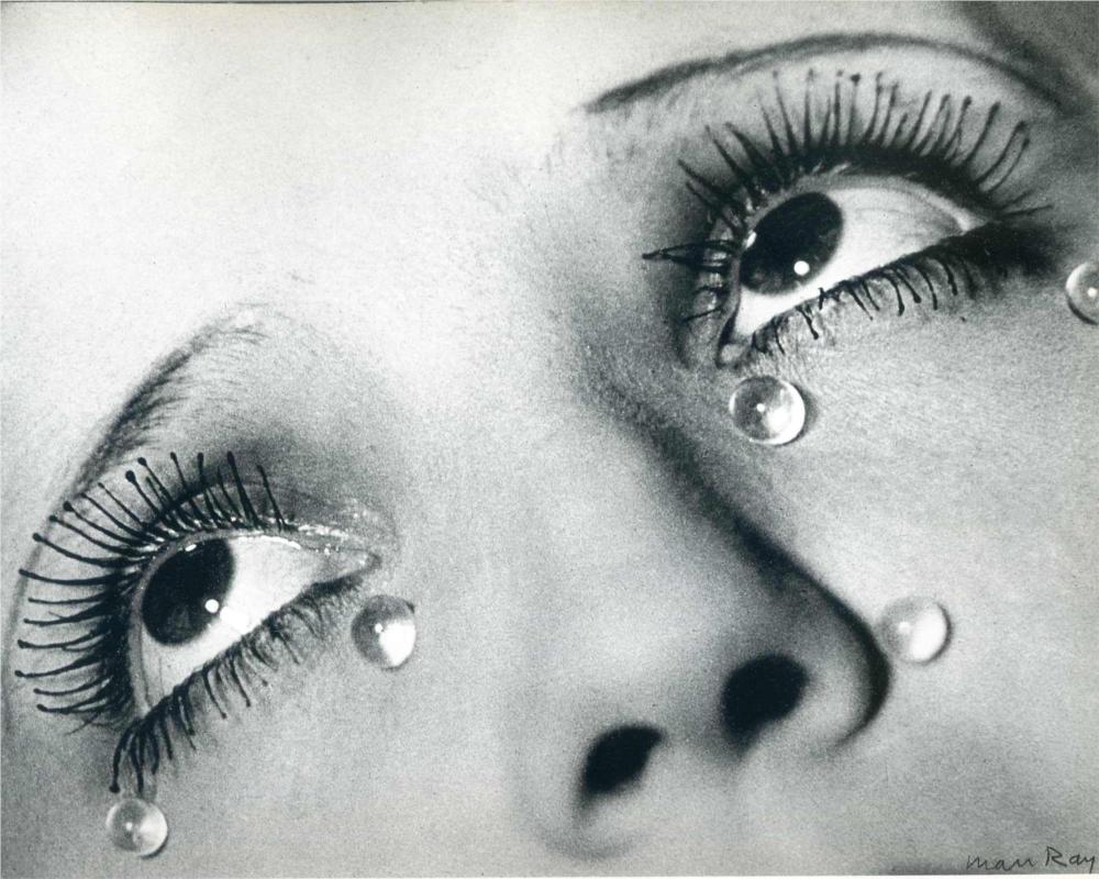 Glass Tears by Man Ray