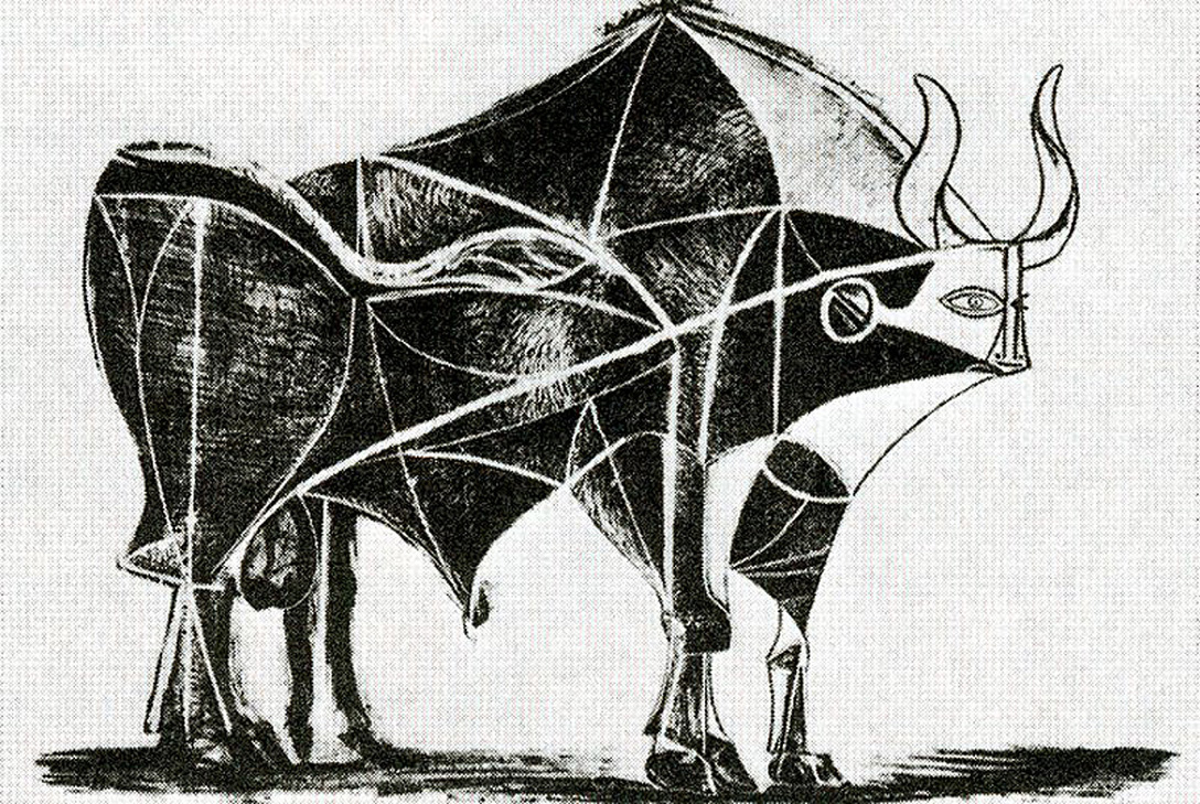 Bull (Plate V) by Pablo Picasso