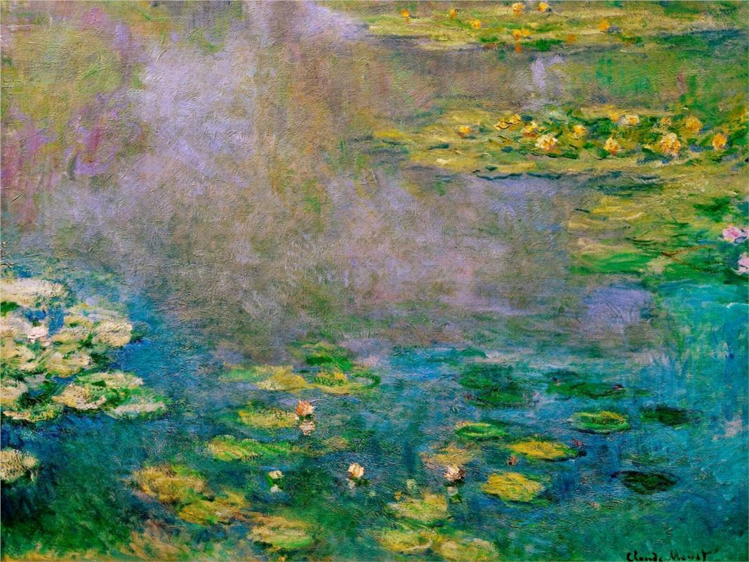Water Lilies (1906) by Claude Monet