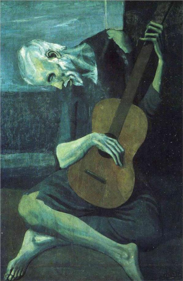 The Old Blind Guitarist by Pablo Picasso