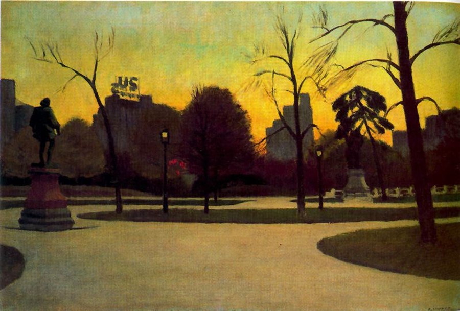 Shakespeare at Dusk by Edward Hopper