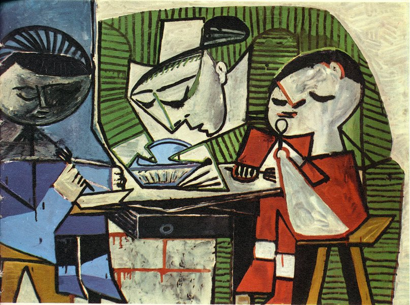 Breakfast by Pablo Picasso