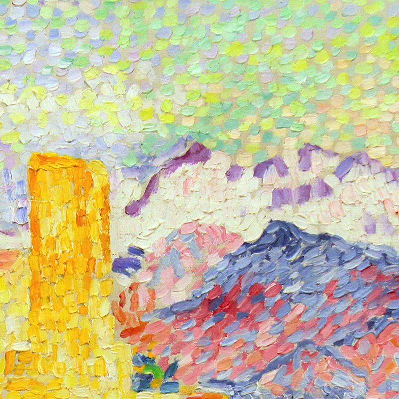 Antibes (detail) by Henri Edmond Cross | Lone Quixote