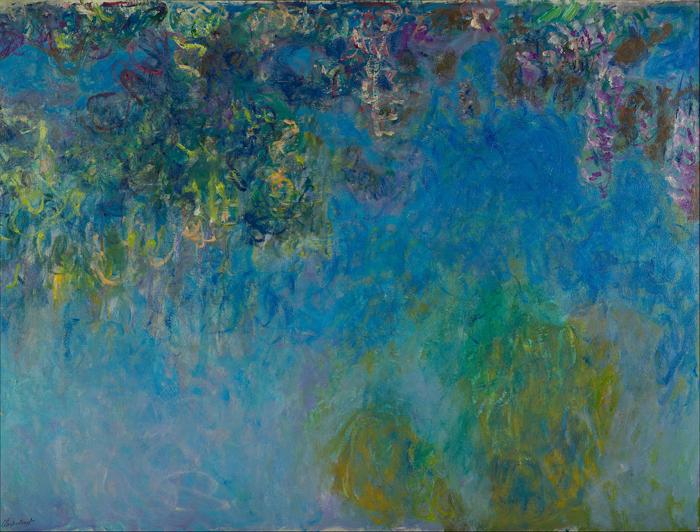 Wisteria by Claude Monet