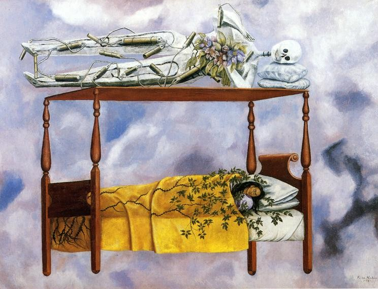 The Dream by Frida Kahlo