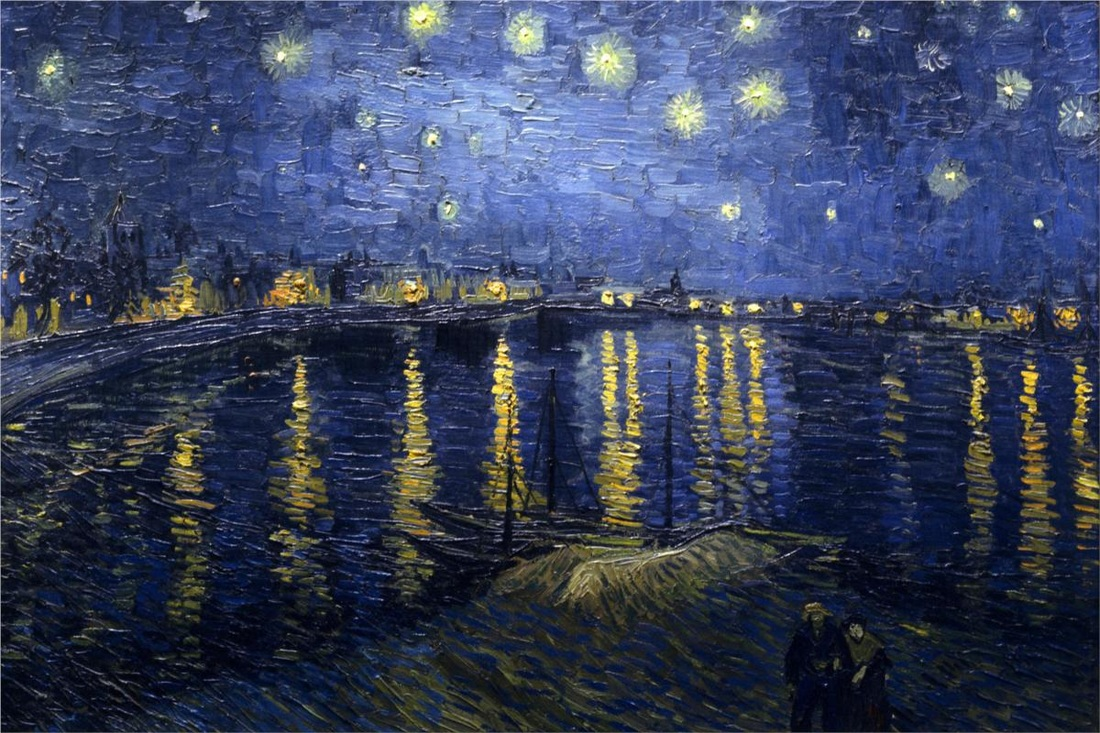 Starry Night over the Rhone by Vincent van Gogh | Lone Quixote