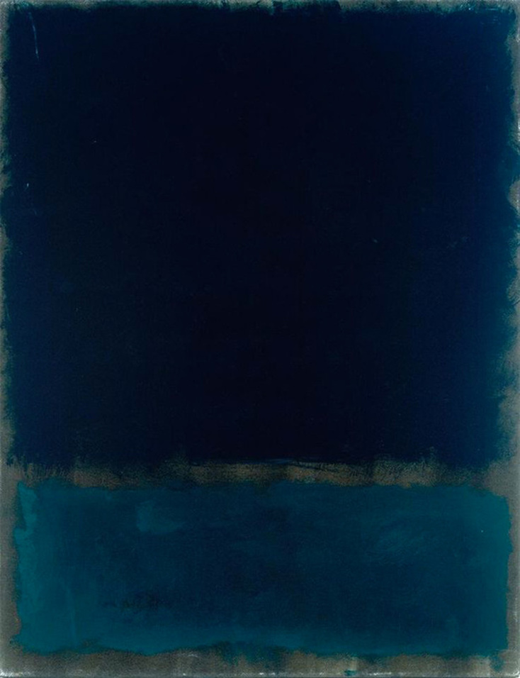Navy and Black by Mark Rothko | Lone Quixote