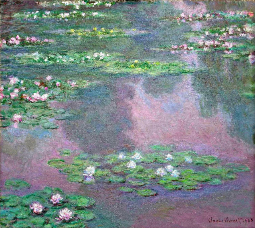 Water Lilies, 1905 by Claude Monet