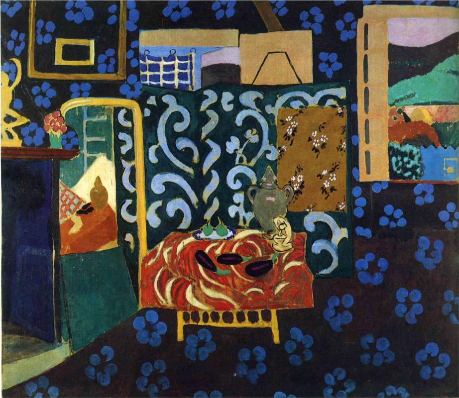 Still Life with Aubergines by Henri Matisse