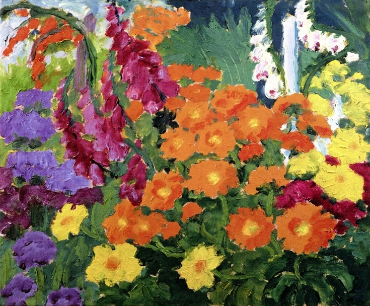 Marigolds by Emil Nolde