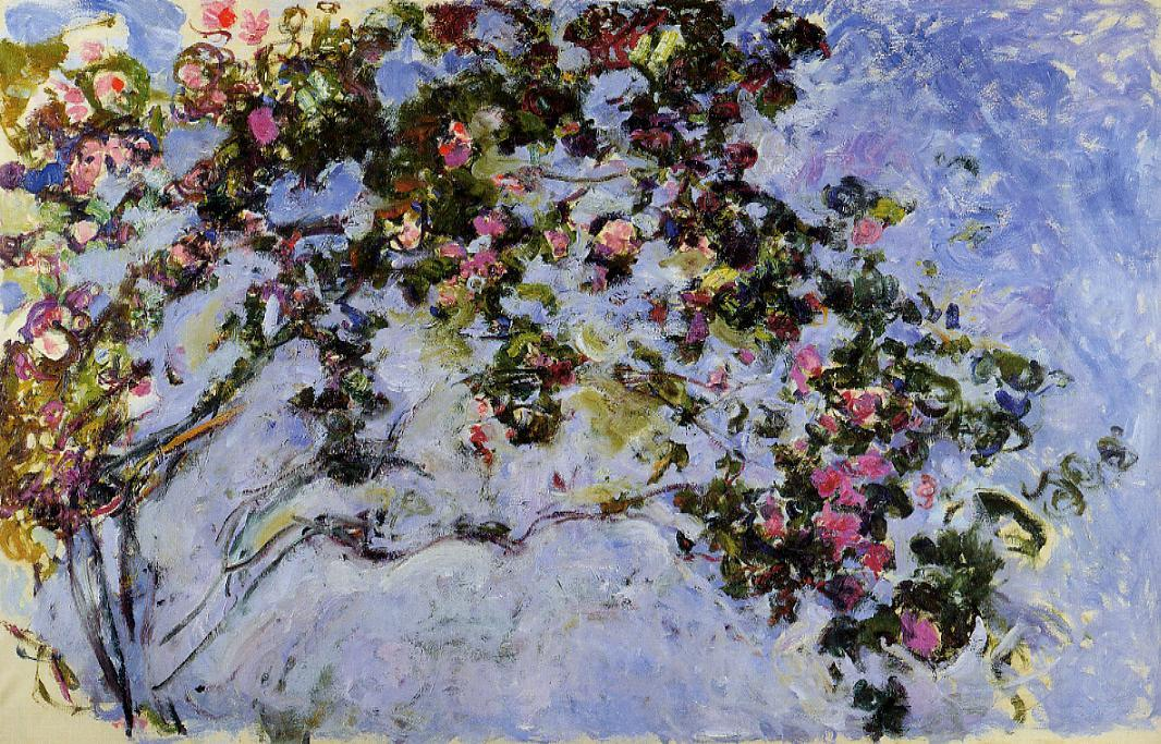 The Rose Bush by Claude Monet | Lone Quixote