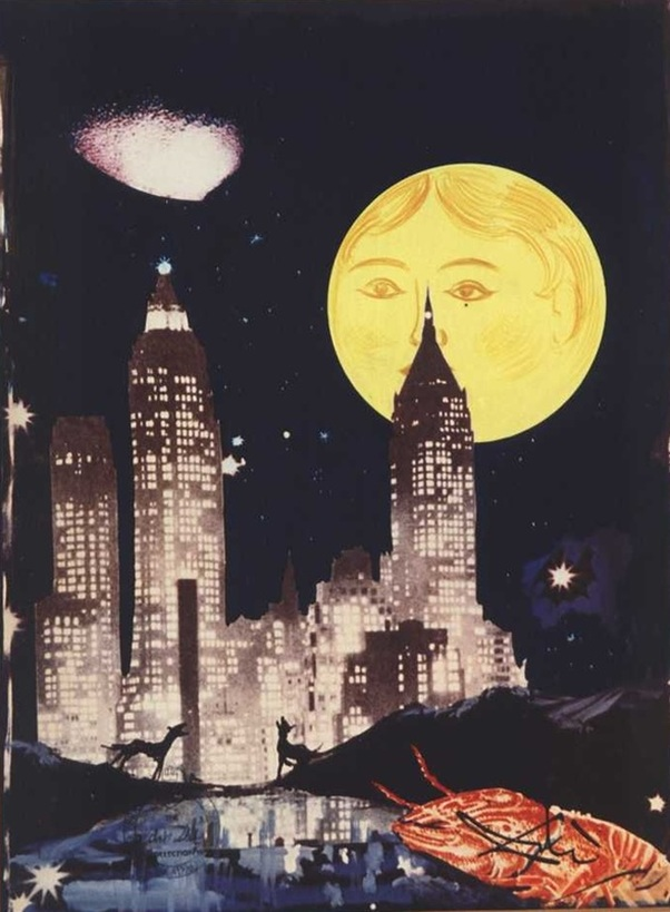 The Moon by Salvador Dali