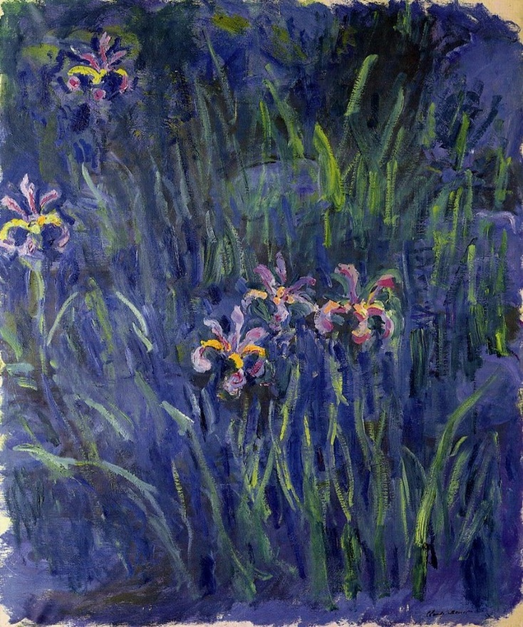 Irises II, 1917 by Claude Monett | Lone Quixote