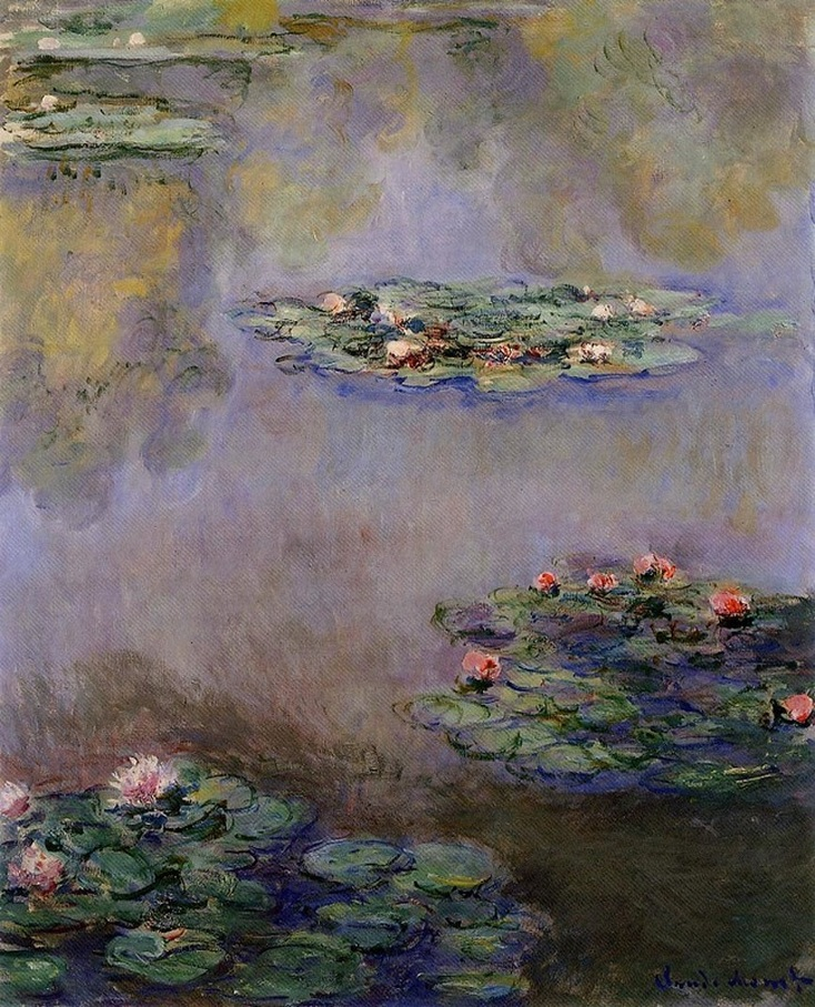 Water Lilies (1908) by Claude Monet