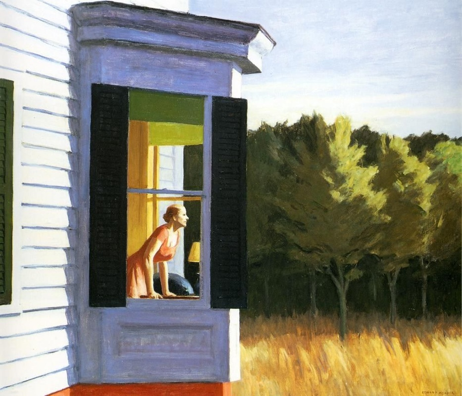 Cape Cod Morning by Edward Hopper