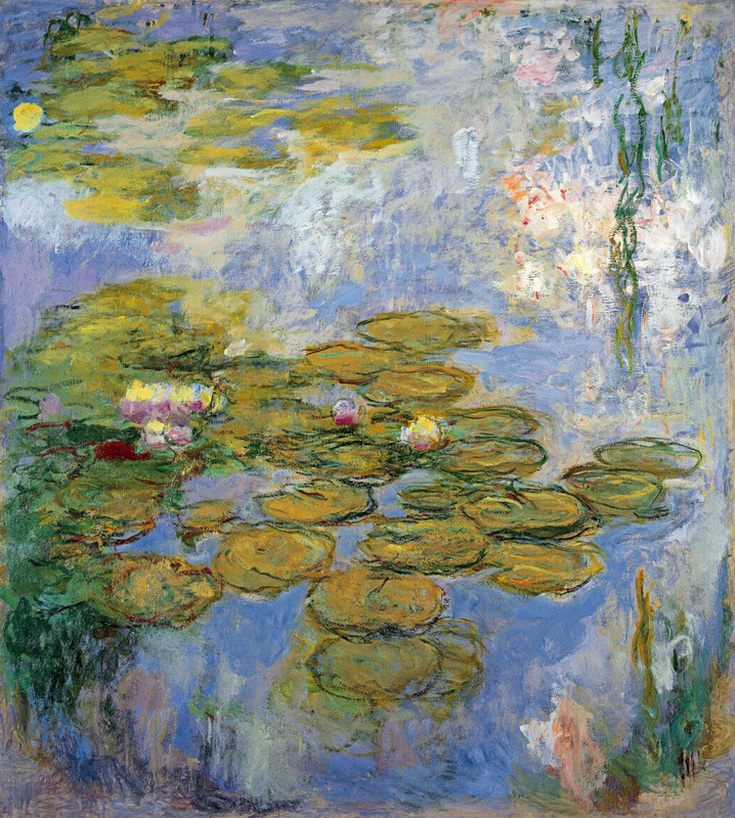 Water Lilies (1919) by Claude Monet