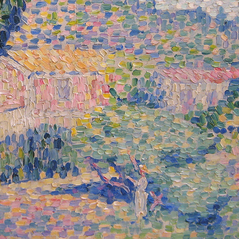 The Pink House (detail) by Henri Edmond Cross | Lone Quixote