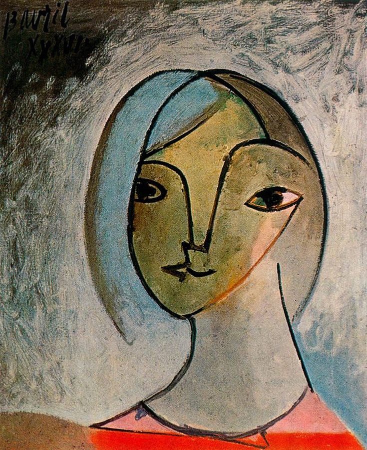 Female Bust by Pablo Picasso | Lone Quixote