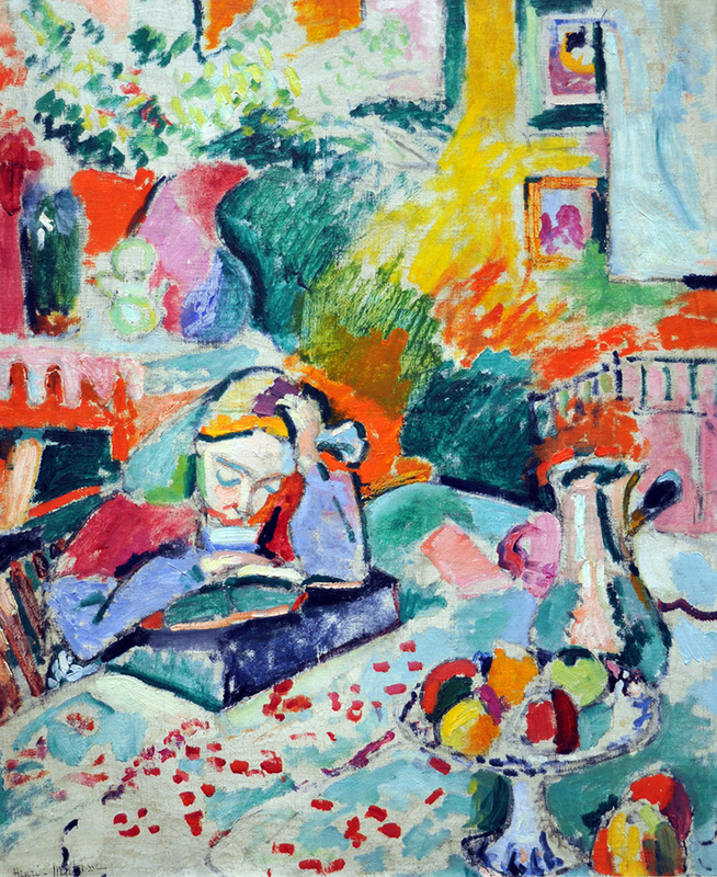 ​Girl Reading by Henri Matisse | Lone Quixote