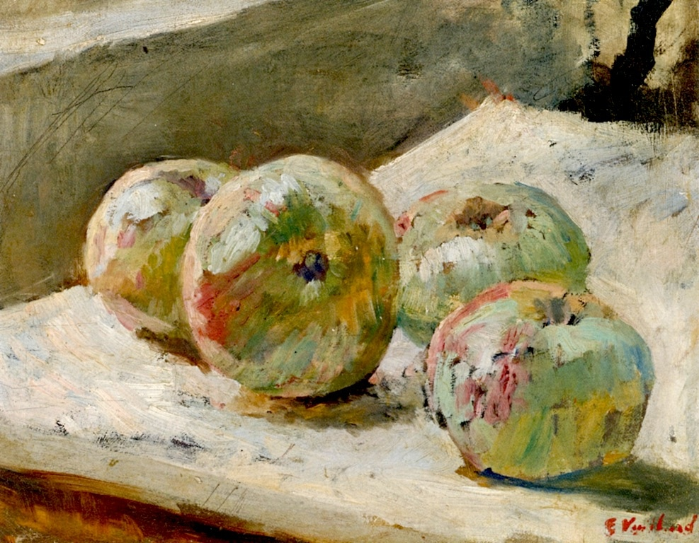 Four Apples by Edouard Vuillard