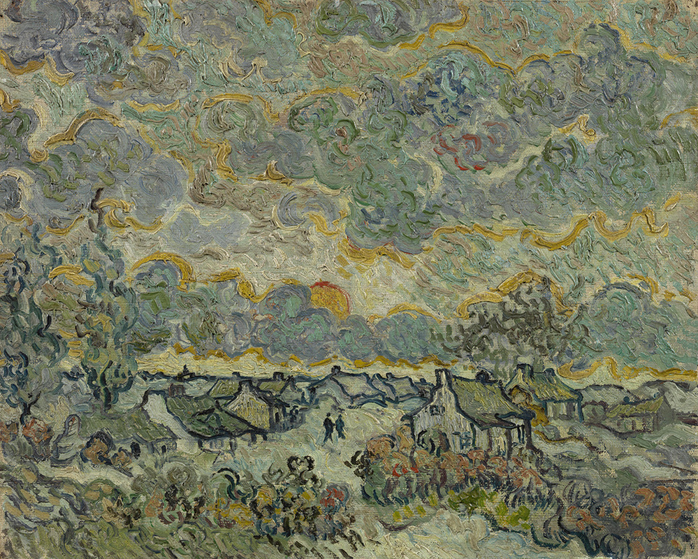 Reminiscence of Brabant by Vincent van Gogh