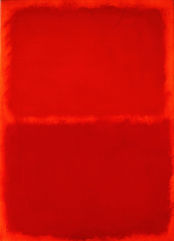 Orange, Red, Orange by Mark Rothko