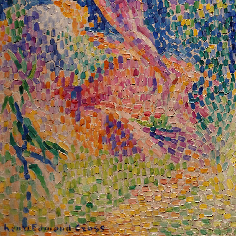 The Flight of the Nymphs (detail) by Henri-Edmond Cross | Lone Quixote
