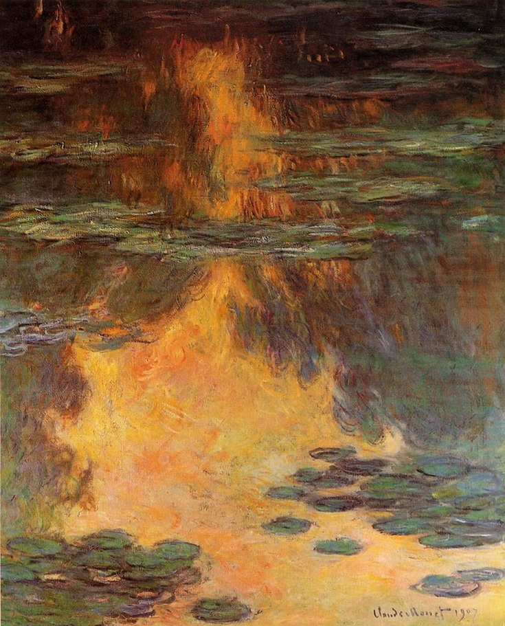 Water Lilies (1907) by Claude Monet