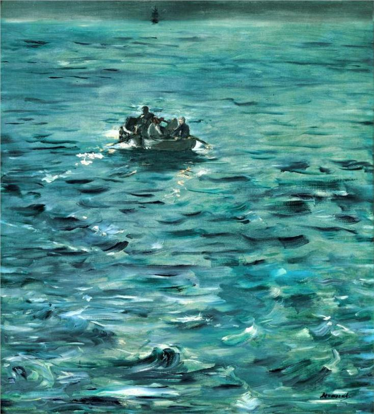 Rochefort's Escape by Edouard Manet | Lone Quixote