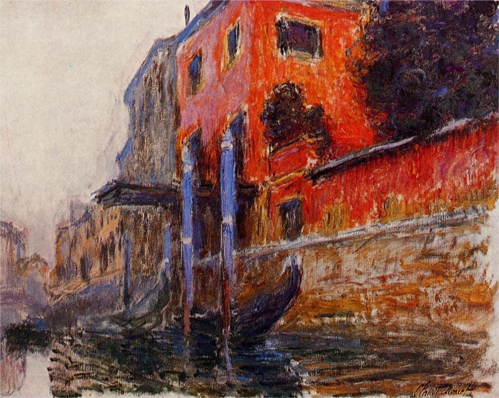 The Red House by Claude Monet