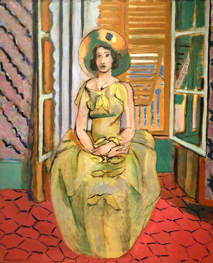 The Yellow Dress by Henri Matisse | Lone Quixote