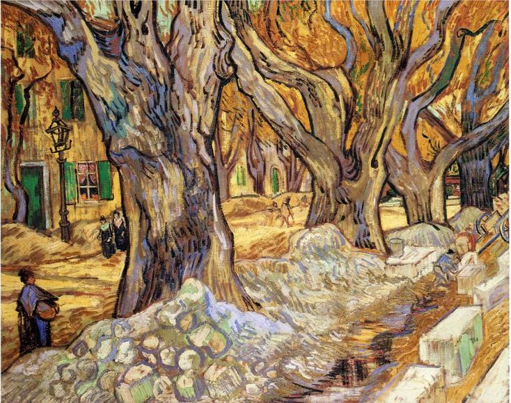 Large Plane Trees by Vincent van Gogh | Lone Quixote