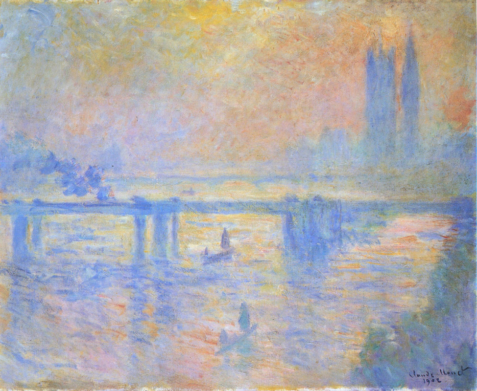 Charing Crossing Bridge (1902) by Claude Monet