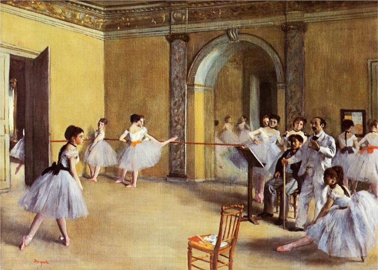Dance Class at the Opera by Edgar Degas