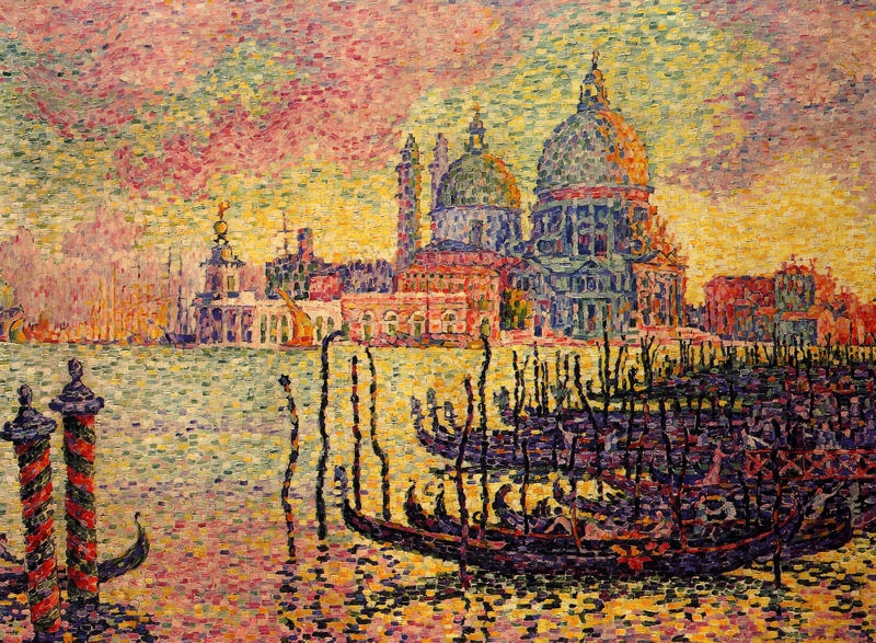 Grand Canal, Venice by Paul Signac