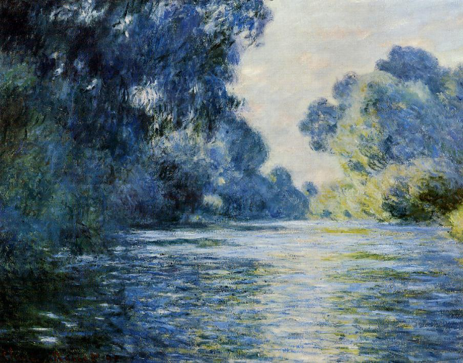 Arm of the Seine at Giverny by Claude Monet