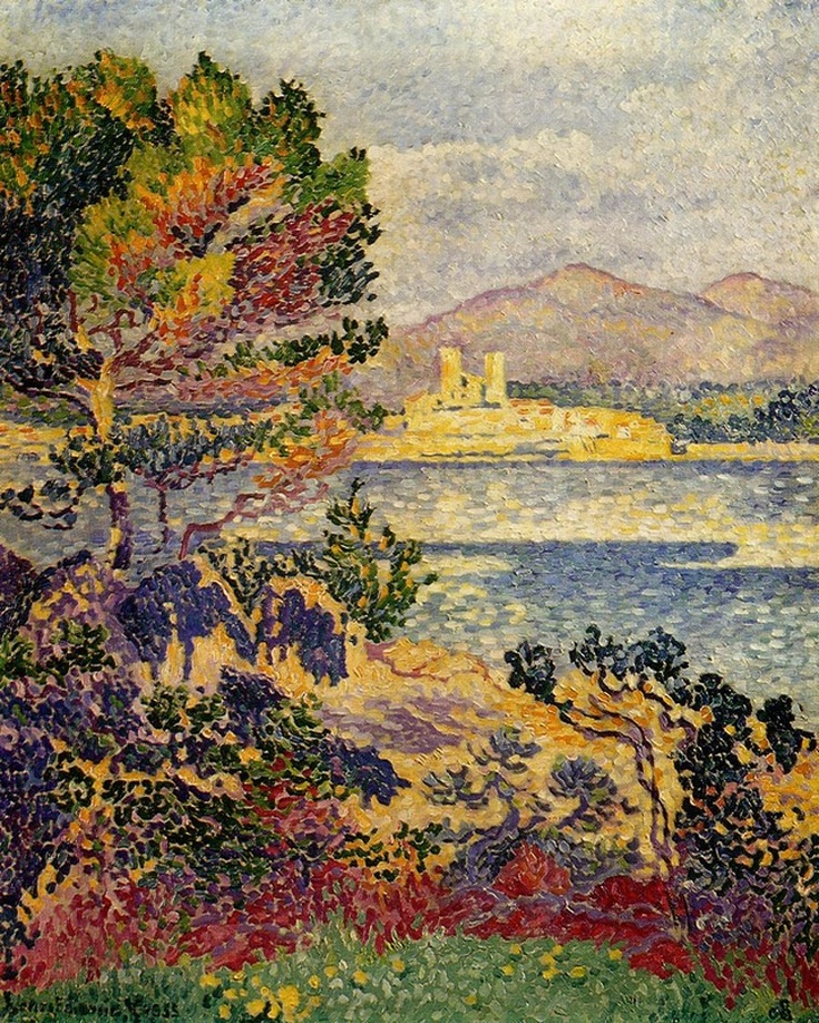 Antibes, Morning  by Henri-Edmond Cross | Lone Quixote