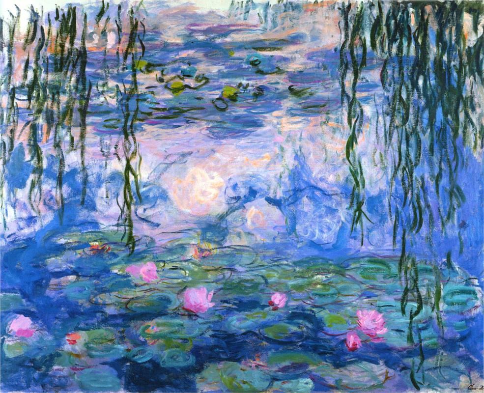 Water Lilies, 1919 by Claude Monet | Lone Quixote