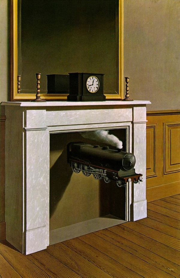 Time Transfixed by Rene Magritte