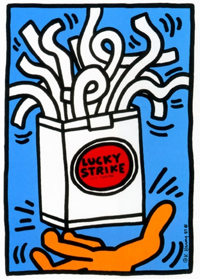 Lucky Strike by Keith Haring | Lone Quixote