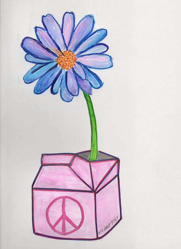 A Flower for Half Pint (Study) | Lone Quixote