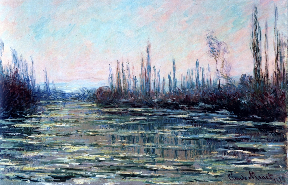Floating Ice by Claude Monet | Lone Quixote