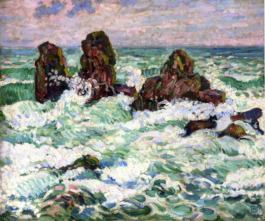 The Rocks by Theo van Rysselberghe
