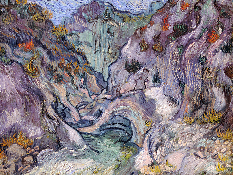 Ravine by Vincent van Gogh
