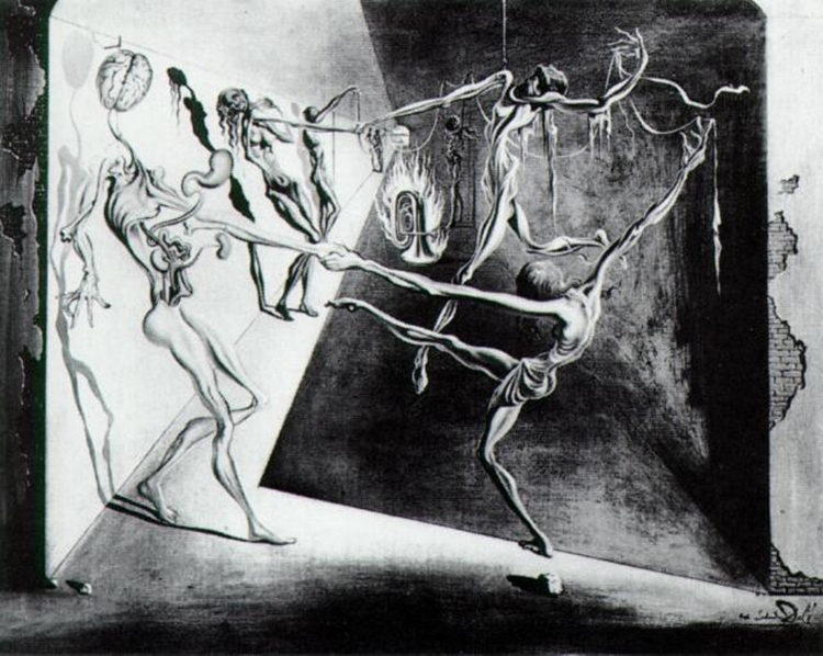 Dance by Salvador Dali