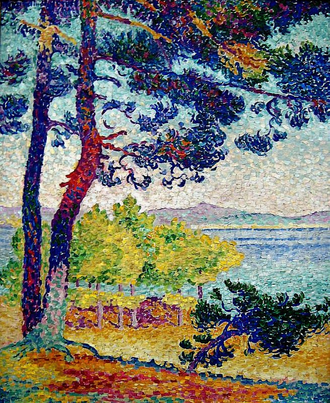 Afternoon at Pardigon, Var by Henri-Edmond Cross