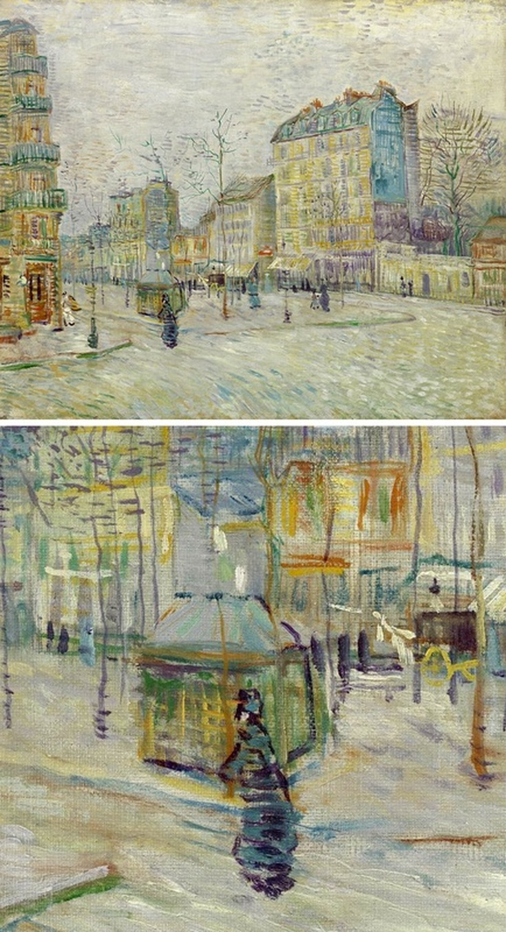 Boulevard de Clichy with Detail View